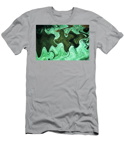Relaxing Abstract Of Rays And Sharks Men's T-Shirt (Athletic Fit)