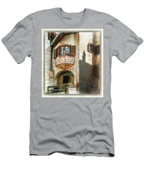 Men's T-Shirt (Athletic Fit) featuring the photograph Relaxing Evening Sun  by Hanny Heim