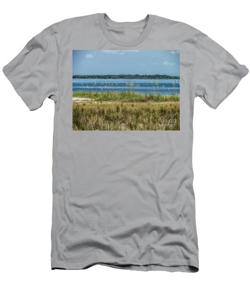 Relaxing On The Island Men's T-Shirt (Athletic Fit)