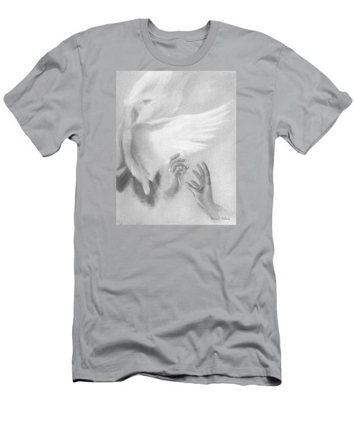 Release Men's T-Shirt (Slim Fit) by Denise Fulmer