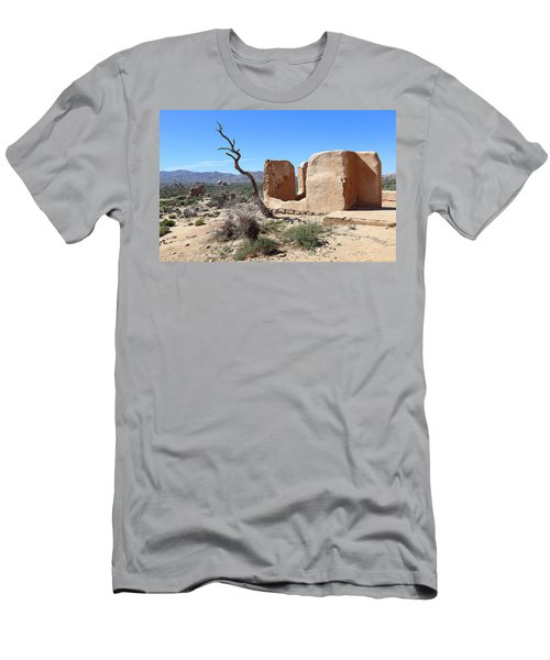 Men's T-Shirt (Slim Fit) featuring the photograph Remain Standing Of Ryan Ranch  by Viktor Savchenko