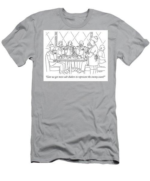 Representing Enemy Scum Men's T-Shirt (Athletic Fit)