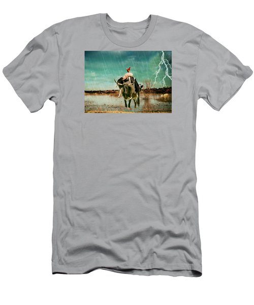 Rescue Men's T-Shirt (Slim Fit) by James Bethanis