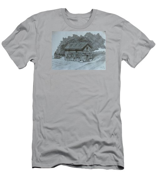 Rest In Pieces  Men's T-Shirt (Slim Fit) by Tony Clark