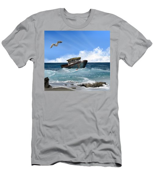 Retiring From The Fleet Men's T-Shirt (Athletic Fit)