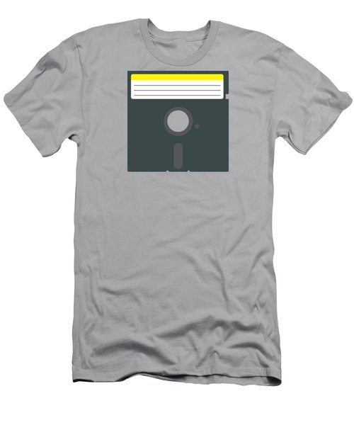 Retro Floppy Disk Men's T-Shirt (Athletic Fit)