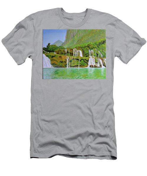 Returned To Paradise Men's T-Shirt (Slim Fit)