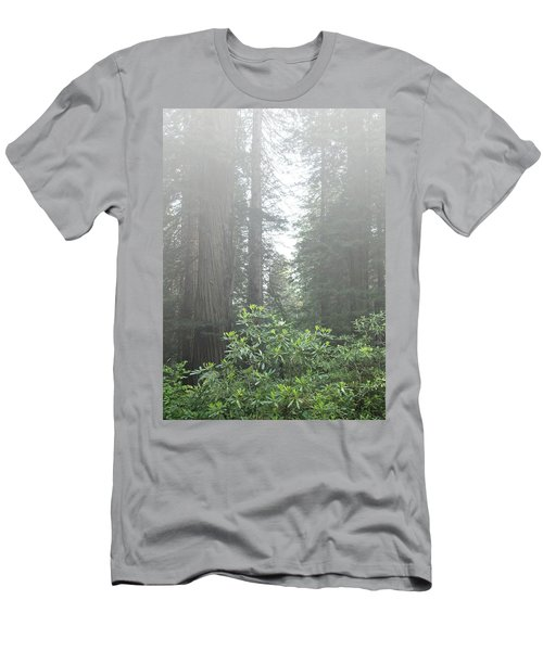 Rhododendrons In The Fog Men's T-Shirt (Athletic Fit)