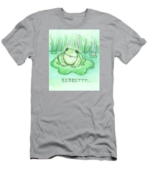 Ribbittt.... Men's T-Shirt (Slim Fit) by Denise Fulmer