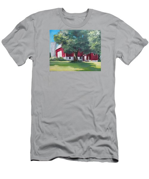 Rich's Barn Men's T-Shirt (Athletic Fit)
