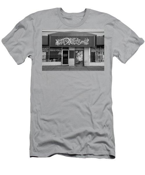 Rick's Cafe East Lansing  Men's T-Shirt (Athletic Fit)