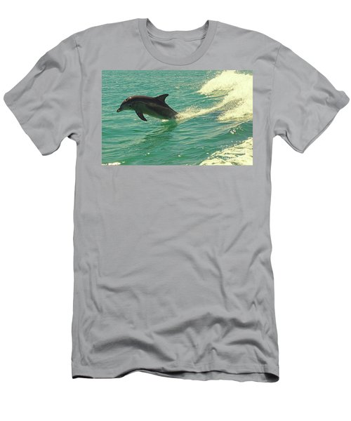 Ride The Wave Men's T-Shirt (Athletic Fit)