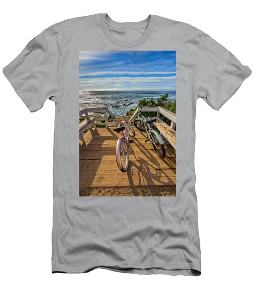 Ride With Me To The Beach Men's T-Shirt (Athletic Fit)