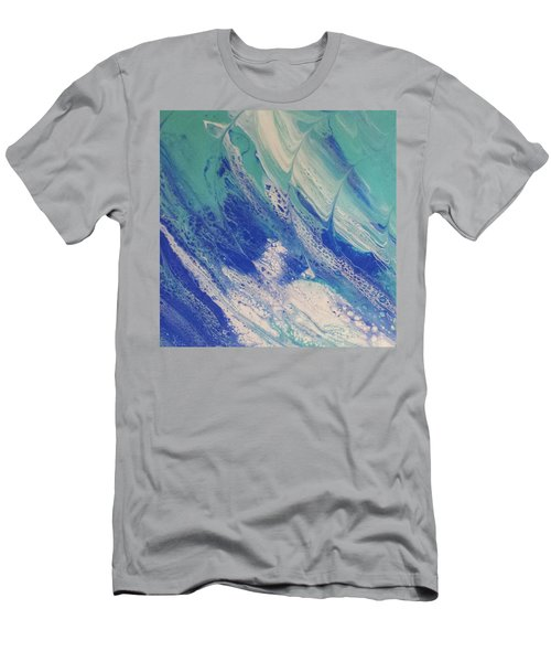 Riding The Wave Men's T-Shirt (Athletic Fit)
