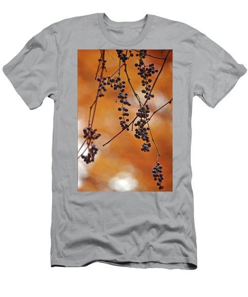 Ripe Wild Grapes  Men's T-Shirt (Athletic Fit)