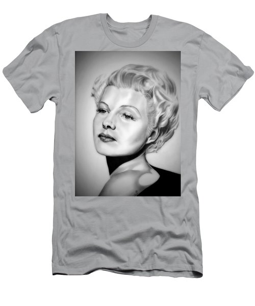 Rita Hayworth Men's T-Shirt (Slim Fit) by Fred Larucci