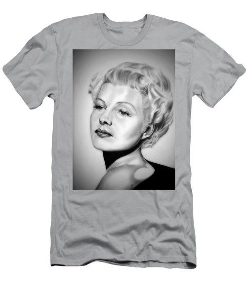 Rita Hayworth Men's T-Shirt (Athletic Fit)