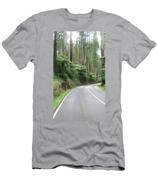 Road 2 Men's T-Shirt (Athletic Fit)
