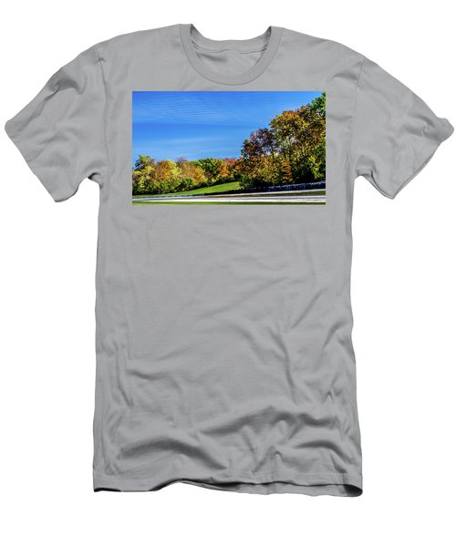 Road America In The Fall Men's T-Shirt (Athletic Fit)