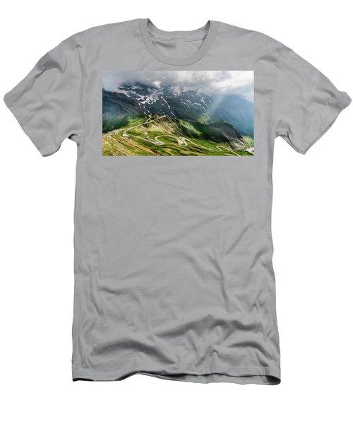 Road Austria Men's T-Shirt (Athletic Fit)