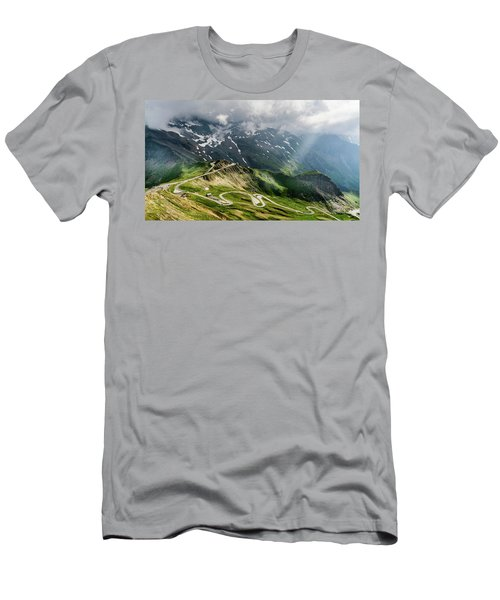 Road Austria Men's T-Shirt (Athletic Fit)