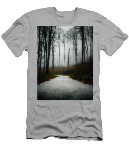 Road In The Fog 07/11/17 Men's T-Shirt (Athletic Fit)