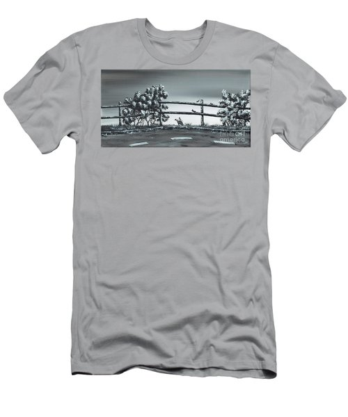 Road Runner. Men's T-Shirt (Slim Fit) by Kenneth Clarke