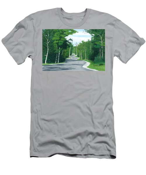 Road To Northport - Summer Men's T-Shirt (Athletic Fit)