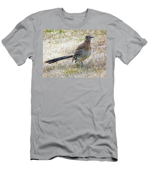 Men's T-Shirt (Slim Fit) featuring the photograph Roadrunner New Mexico by Joseph Frank Baraba