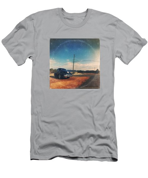 Roadside Classic - America As Vintage Album Art Men's T-Shirt (Athletic Fit)