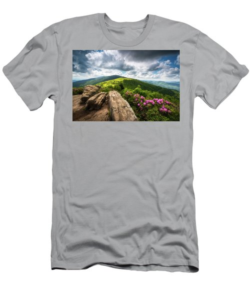Roan Mountain Radiance Appalachian Trail Nc Tn Mountains Men's T-Shirt (Athletic Fit)