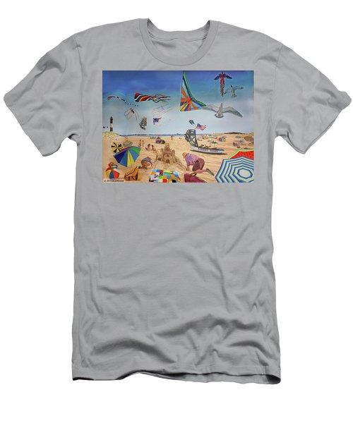Robert Moses Beach Men's T-Shirt (Athletic Fit)