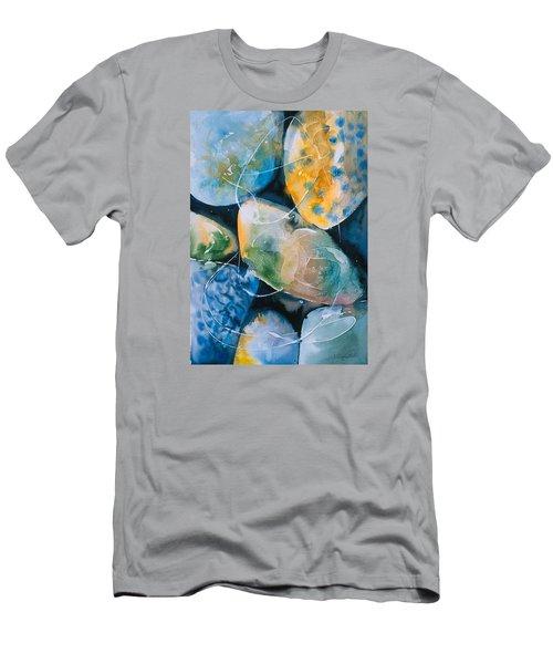 Rock In Water Men's T-Shirt (Slim Fit)