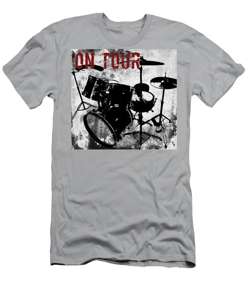 Rock N Roll Percussion  Men's T-Shirt (Athletic Fit)