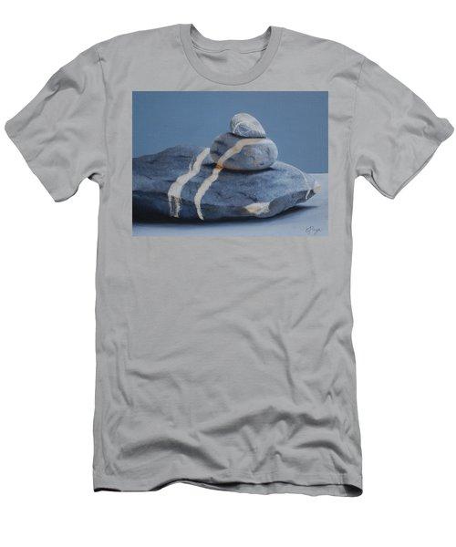 Rock Stack Men's T-Shirt (Athletic Fit)