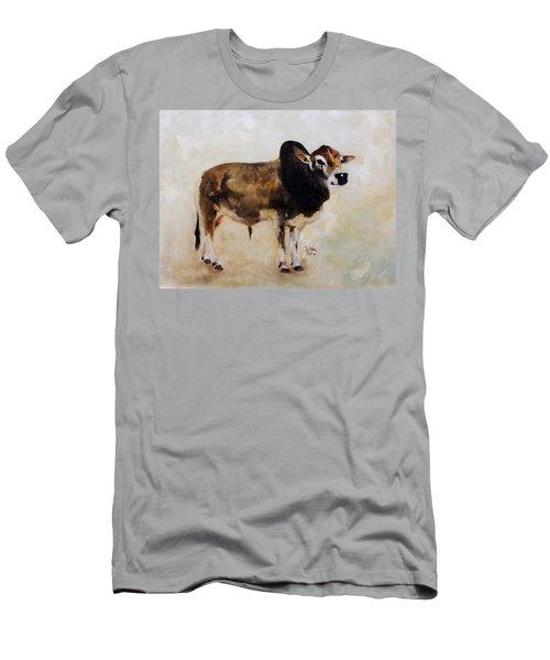 Rocket The Master Champion Herd Sire Miniature Zebu Men's T-Shirt (Athletic Fit)