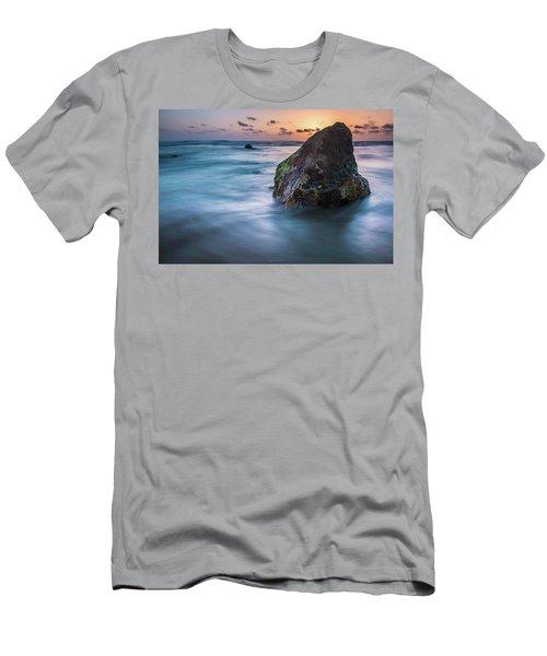 Rocks At Sunset 4 Men's T-Shirt (Athletic Fit)