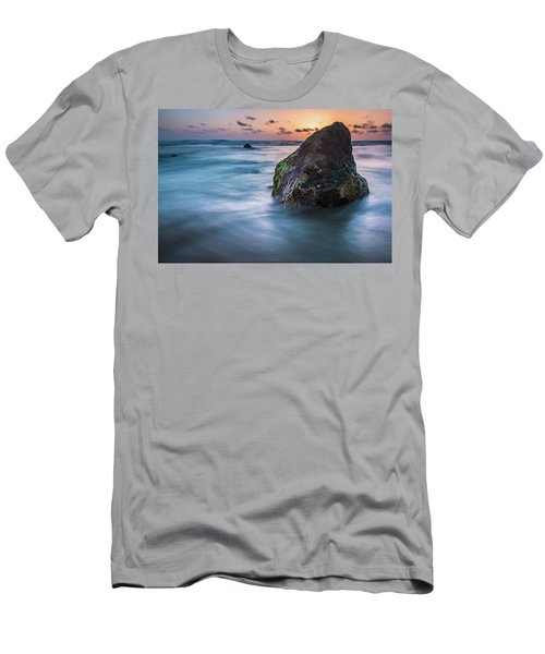 Rocks At Sunset 4 Men's T-Shirt (Athletic Fit)