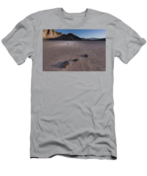Rocks On The Racetrack Death Valley Men's T-Shirt (Athletic Fit)
