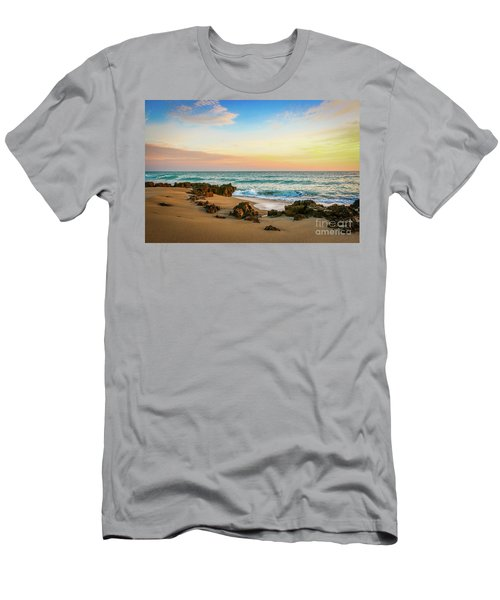 Rocky Beach Men's T-Shirt (Athletic Fit)