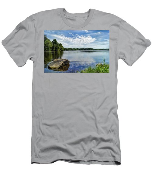 Rocky Fork Lake Men's T-Shirt (Athletic Fit)