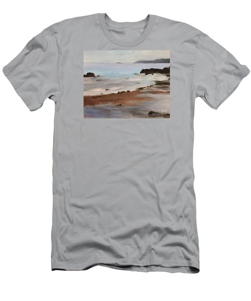 Rocky Neck Beach Men's T-Shirt (Athletic Fit)