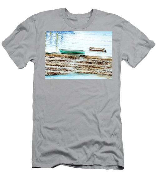 Rocky Neck Runabout Skiff Men's T-Shirt (Athletic Fit)