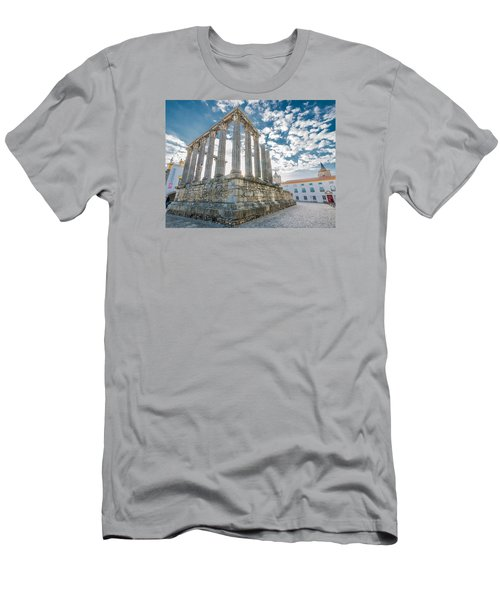 Roman Temple At Evora Men's T-Shirt (Athletic Fit)