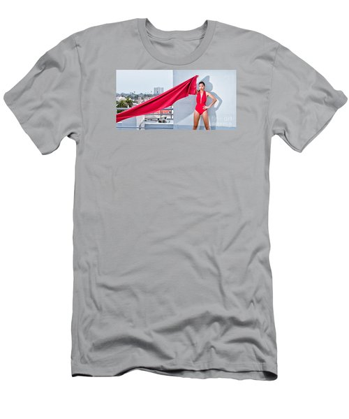 Rooftop Men's T-Shirt (Slim Fit) by Gregory Worsham