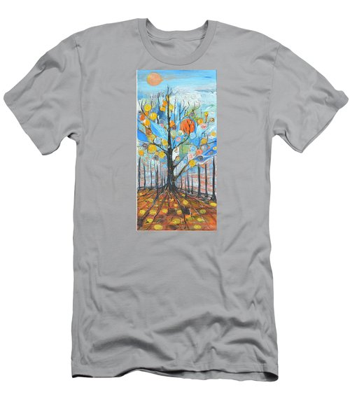 Roots Men's T-Shirt (Slim Fit) by Evelina Popilian