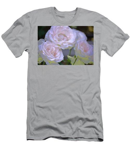 Rose 120 Men's T-Shirt (Slim Fit) by Pamela Cooper