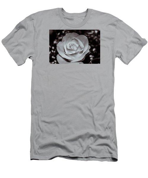 Rose B/w - 9166 Men's T-Shirt (Slim Fit) by G L Sarti