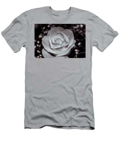 Rose B/w - 9166 Men's T-Shirt (Athletic Fit)