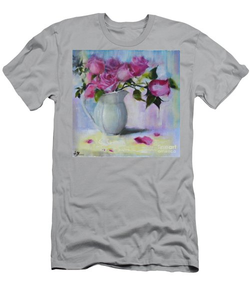 Rose Day Men's T-Shirt (Athletic Fit)